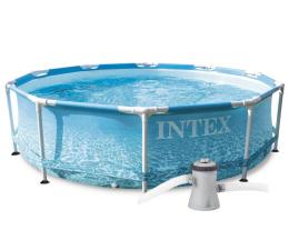 Basen / akcesoria INTEX Basen stelażowy Ocean z pompą 305×76 cm