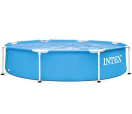 Basen / akcesoria INTEX Basen stelażowy Metal Frame 244 x 51 cm
