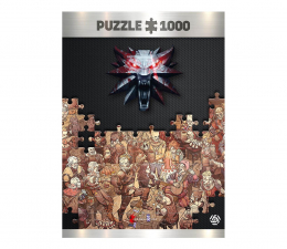 Puzzle z gier CENEGA The Witcher (Wiedźmin): Birthday puzzles 1000