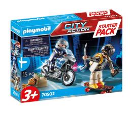 Klocki PLAYMOBIL ® PLAYMOBIL Starter Pack Policja - zestaw dodatkowy