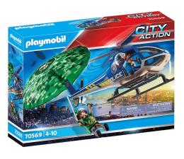 Klocki PLAYMOBIL ® PLAYMOBIL City Action Policyjny śmigłowiec: Ucieczka ze spadochronem