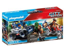 Klocki PLAYMOBIL ® PLAYMOBIL City Action Policyjny samochód Pościg za złodziejem skarbu