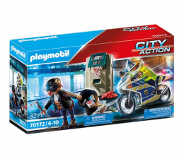 Klocki PLAYMOBIL ® PLAYMOBIL Policyjny motor: Pościg za przestępcą