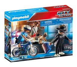 Klocki PLAYMOBIL ® PLAYMOBIL Policyjny rower: Pościg za kieszonkowcem