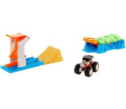 Pojazd / tor i garaż Hot Wheels Monster Trucks Zestaw Kaskaderskie lądowanie
