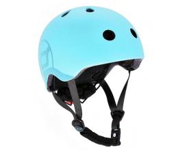 Kask i ochraniacz Scoot & Ride Kask Ochronny S-M dla dzieci 3+ Blueberry