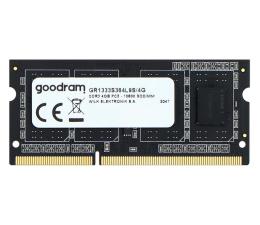 Pamięć RAM SODIMM DDR3 GOODRAM 4GB (1x4GB) 1333MHz CL9 SR