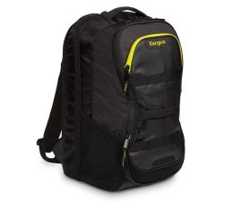 """Plecak na laptopa Targus Work + Play Fitness 15.6"""" czarny/żółty"""