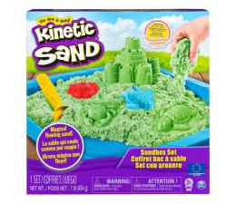 Zabawka kreatywna Spin Master Kinetic Sand Zamek z piaskownicą Zielony