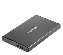 """Obudowa dysku Natec RHINO GO SATA 2.5"""" USB 3.0 Czarna"""