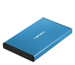 "Obudowa dysku Natec RHINO GO SATA 2.5"" USB 3.0 Niebieska"