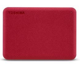 Dysk zewnętrzny HDD Toshiba Canvio Advance 2TB USB 3.2 Czerwony