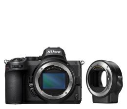 Bezlusterkowiec Nikon Z5+ adapter FTZ