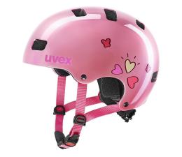 Ochraniacz/kask UVEX Kask Kid 3 różowy serca 51-55 cm
