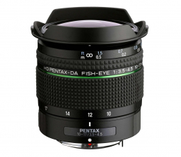 Obiektyw zmiennoogniskowy Pentax DA Fish Eye 10-17mm F3.5-4.5 ED HD