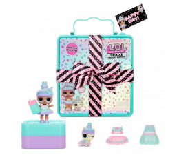 Figurka L.O.L. Surprise! Deluxe Present Surprise- Teal