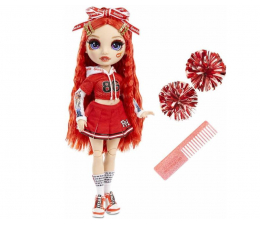 Lalka i akcesoria Rainbow High Cheer Doll - Ruby Anderson (Red)