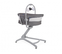 Łóżeczko dla dziecka Chicco Baby Hug 4w1 AIR Dark Grey