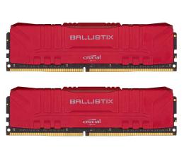 Pamięć RAM DDR4 Crucial 16GB (2x8GB) 3000MHz CL15 Ballistix Red