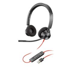 Słuchawki biurowe, callcenter Plantronics Blackwire 3320 USB-A
