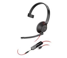Słuchawki biurowe, callcenter Plantronics Blackwire C5210 USB-C + jack 3,5