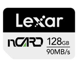 Karta pamięci nanoSD Lexar 128GB nCARD NM for Huawei® phones 90MB/s