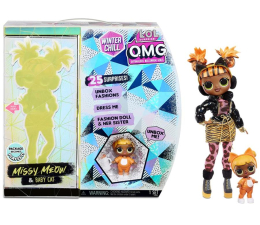 Figurka L.O.L. Surprise! OMG Winter Chill Missy Meow