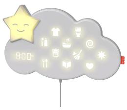 Zabawka interaktywna Fisher-Price Lumalou Chmurka Uspokajacz i asystent na noc i dzień