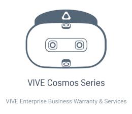 Gwarancja rozszerzona do VR HTC HTC Business Warranty & Services - Cosmos