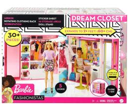 Lalka i akcesoria Barbie Wymarzona szafa
