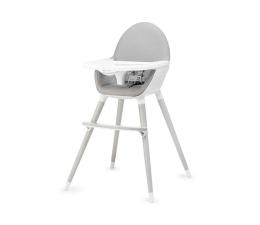 Krzesełko do karmienia Kinderkraft Fini 2w1 szare nogi grey