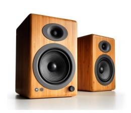 Kolumny stereo Audioengine A5+ BT Bambusowe para