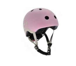 Kask i ochraniacz Scoot & Ride Kask Ochronny XXS-S dla dzieci 1-5lat Rose