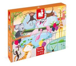 Puzzle dla dzieci Janod Puzzle sensoryczne 20 elementów  Wycieczka do zoo