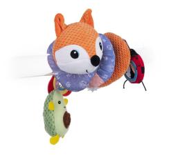 Zabawka dla małych dzieci Dumel Aktywna Spirala Pomarańczowy Lis
