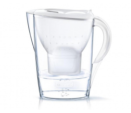 Filtracja wody Brita Dzbanek filtrujący MARELLA Plus 2,4L biała + 3 wkłady Pure