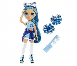 Lalka i akcesoria Rainbow High Cheer Doll - Skyler Bradshaw (Blue)