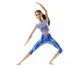 Lalka i akcesoria Barbie Made To Move lalka gimnastyczka Niebieskie ubranko