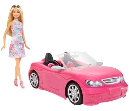 Lalka i akcesoria Barbie Lalka w różowym kabriolecie