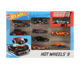 Pojazd / tor i garaż Hot Wheels Zestaw samochodzików 9-cio pak