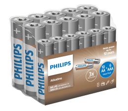 Bateria alkaliczna Philips Entry Alkaline 10x AA + 6x AAA