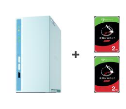 Dysk sieciowy NAS / macierz QNAP TS-230 4TB (2xHDD, 4x1.4GHz, 2GB, 3xUSB, 1xLAN)