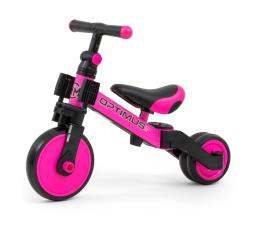 Rowerek biegowy MILLY MALLY Optimus Pink 3w1