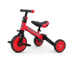 Rowerek biegowy MILLY MALLY Optimus Red 3w1