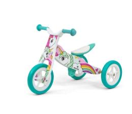 Rowerek biegowy MILLY MALLY Look Unicorm