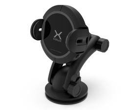 Uchwyt do smartfonów KRUX Automatyczny do szyby i kokpitu z indukcją (15W)