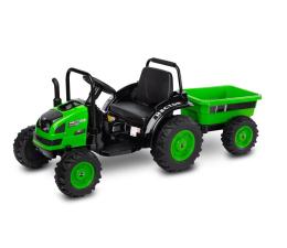 Pojazd na akumulator Toyz Traktor z przyczepą Hector Green
