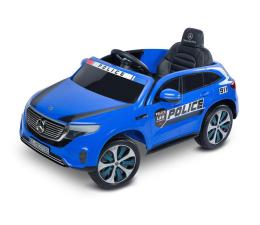 Pojazd na akumulator Toyz Mercedes Benz EQC Policja Blue
