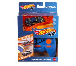 Zabawka zdalnie sterowana Hot Wheels Nissan GTR 1:64