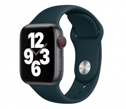 Pasek / bransoletka Apple Pasek Sportowy do Apple Watch malachitowy